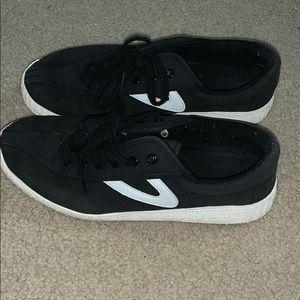 Black Tretorn sneakers size 8.5